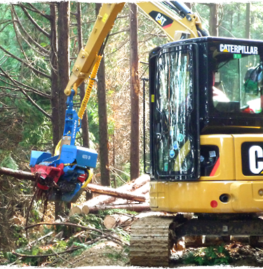 高性能林業機械